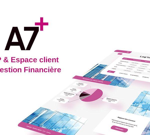 A7+ ERP pour la gestion financière